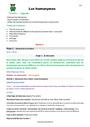 Séquence - Fiche de préparation Vocabulaire Homonymes, homophones : CM1