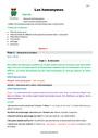 Séquence - Fiche de préparation Vocabulaire Homonymes, homophones : CM2