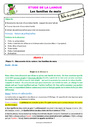 Séquence - Fiche de préparation Vocabulaire / Lexique - Étude de la langue : CE1