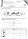 Leçon et exercice : Solides et patrons : CM1