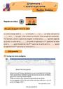 Révision, soutien scolaire - Accord sujet verbe : CE2