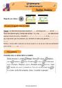 Révision, soutien scolaire - Article et déterminant : CE2