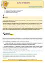 Révision, soutien scolaire - Article et déterminant : CM1