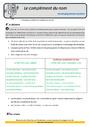 Révision, soutien scolaire - Complément du nom : CM2