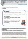 Révision, soutien scolaire - complément du verbe: COD, COI, COS : CM1