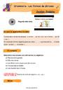 Révision, soutien scolaire - Formes de phrases : CE1