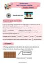 Révision, soutien scolaire - Fractions : CM1