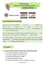Révision, soutien scolaire - Groupe nominal : CE1