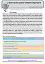 Révision, soutien scolaire - Imparfait de l'indicatif : CM1