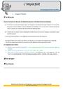 Révision, soutien scolaire - Imparfait de l'indicatif : CM2