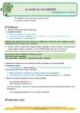 Révision, soutien scolaire - Infinitif : CE1