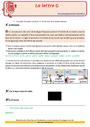 Révision, soutien scolaire - Lettre g : CE2