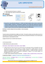 Révision, soutien scolaire - Mots de sens contraire : CM1