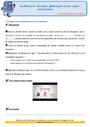 Révision, soutien scolaire - Mots étiquettes / termes génériques et particuliers : CM1