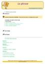 Révision, soutien scolaire - Phrase / Types de phrase : CE1