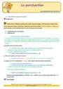 Révision, soutien scolaire - Ponctuation : CE1