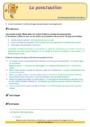 Révision, soutien scolaire - Ponctuation : CE2