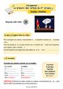 Révision, soutien scolaire - Présent de l'indicatif : CE1