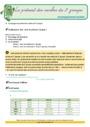 Révision, soutien scolaire - Présent de l'indicatif : CM2