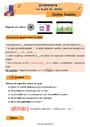Révision, soutien scolaire - Sujet, groupe sujet : CE2