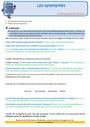 Révision, soutien scolaire - Synonymes : CM1