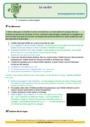 Révision, soutien scolaire - Verbe, groupe verbal : CE2