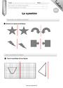 Leçon et exercice : Symétrie axiale : CM1