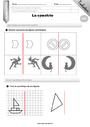 Leçon et exercice : Symétrie axiale : CM2