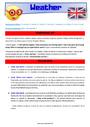 Leçon et exercice : Time / Weather - Anglais : CE2