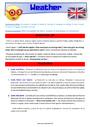Leçon et exercice : Time / Weather - Anglais : CM1