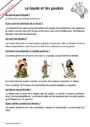 Question - Réponse ? Celtes, Gaulois, Grecs et Romains : CE2