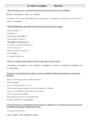 Leçon et exercice : Verbe conjugué : CM2