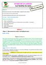 Leçon et exercice : Vocabulaire / Lexique - Étude de la langue : CE1