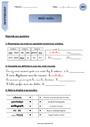 Leçon et exercice : Vocabulaire ludique : CM1