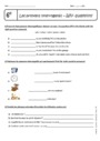 Cours et exercice : Wh- questions - Anglais : 6ème