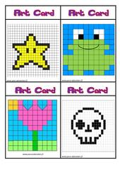 Art card – Arts visuels : 2eme, 3eme Primaire