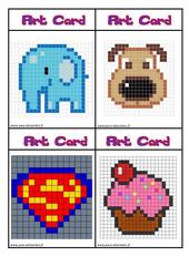 Art card – Arts visuels : 4eme, 5eme Primaire