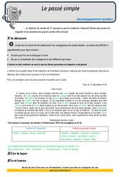 Passé simple – Soutien scolaire – Aide aux devoirs : 5eme Primaire