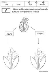 Graphisme – Muguet : 2eme Maternelle – Cycle Fondamental