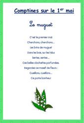 Comptines – Muguet : 1ere, 2eme, 3eme Maternelle – Cycle Fondamental