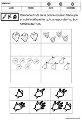 Mathématiques – Été : 2eme Maternelle – Cycle Fondamental