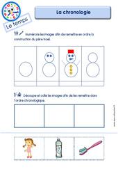 Chronologie – Le Temps : 3eme Maternelle – Cycle Fondamental