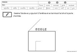 Graphisme – Rentrée : 2eme Maternelle – Cycle Fondamental