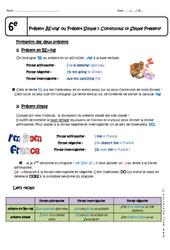Présent BE+ing – Présent Simple – Cours : 6eme Primaire