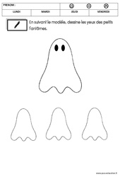 Graphisme – Halloween : 1ere Maternelle – Cycle Fondamental