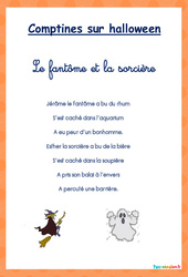 Comptines – Halloween : 1ere Maternelle – Cycle Fondamental