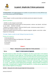 Passe Simple 5eme Primaire Exercice Evaluation Revision Lecon Pass Education