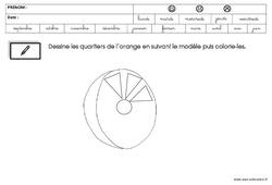 Graphisme – La semaine du goût : 3eme Maternelle – Cycle Fondamental