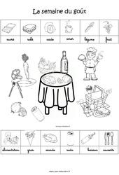 Scène et exploitation pédagogique de «La semaine du goût» : 3eme Maternelle – Cycle Fondamental