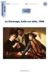 Le Caravage, huile sur toile, 1596 – Lecture compréhension – Tableau : 4eme Primaire